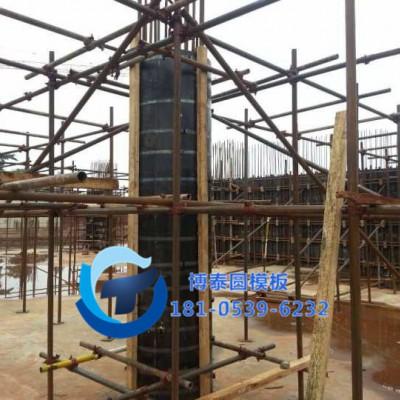 圆柱木模板厂-上海直供-圆弧模板-桥墩模板-井模板-异形模板