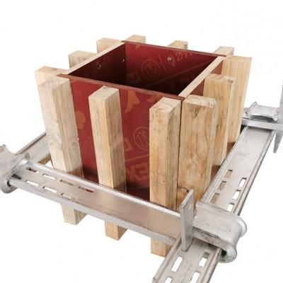 长沙方柱加固件生产厂家,方柱扣定制批发,可货到付款