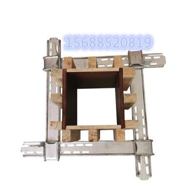 使用方柱加固件的安装步骤