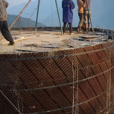 圆形水池木模板怎样支模