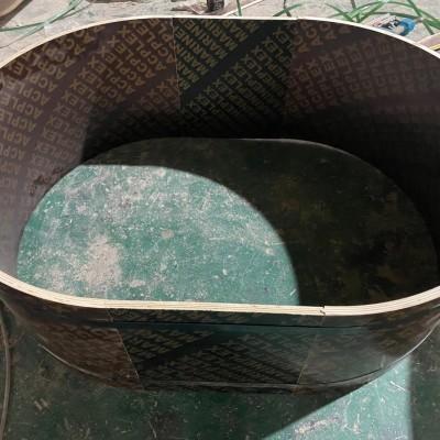 圆形水池木模板怎样做