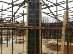 直径1800mm圆柱模板加固安装施工方案