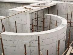 大直径水池圆柱圆弧模板加固施工安装方案