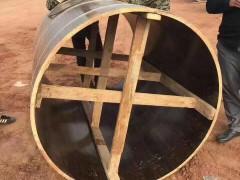 直径2000mm木制圆柱模板加固承载计算说明【免费下载】