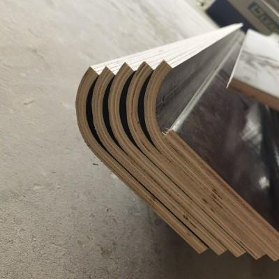 L形异形模板,弧形接平板一体
